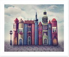 Magical Kingdoms Art Print 93337931
