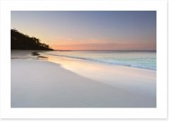 Serenity at Murrays Beach Art Print 93752408