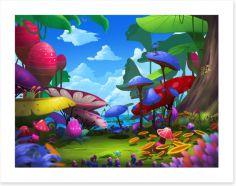 Magical Kingdoms Art Print 95148922