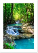 Waterfalls Art Print 96026494