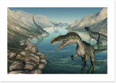 Dinosaurs Art Print 96204488