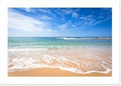Beach Art Print 97340608