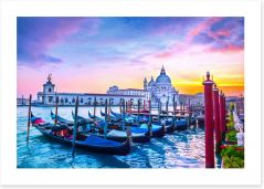 Basilica sunset Art Print 99576235