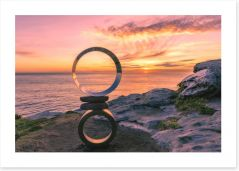 Sunrise and circles