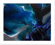 Deep sea 2 Art Print ET0005