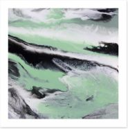Mint tide Art Print ET0035