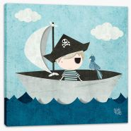 All aboard the pirate ship Stretched Canvas KB0001