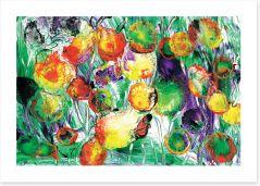 Dahlia's love the spring Art Print OC0017