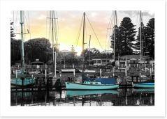 Port Fairy harbour