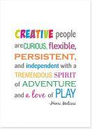 Creative people Art Print SD00023