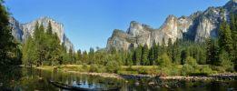 Yosemite valley panoramic