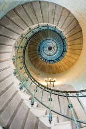 The lighthouse staircase