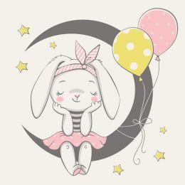 Baby bunny dreams