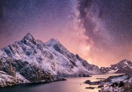 Summit under the stars