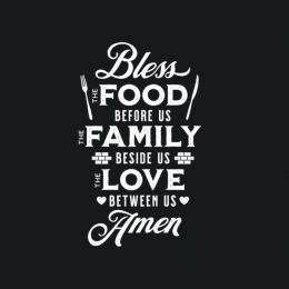 Bless the food