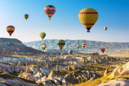 Cruising over Cappadocia