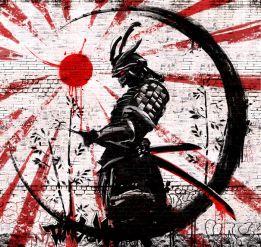 Red sun warrior