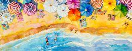 Perfect beach panorama