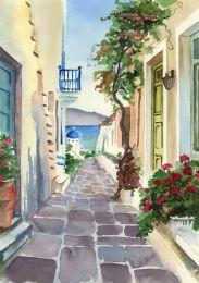 Santorini stroll
