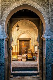Entrance to Fes medina
