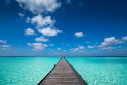 Pier into the horizon