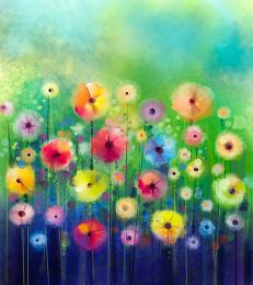 Bright sunny flowers