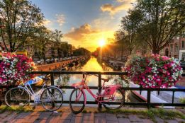 Amsterdam sunrise