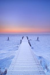 To the frozen sunset