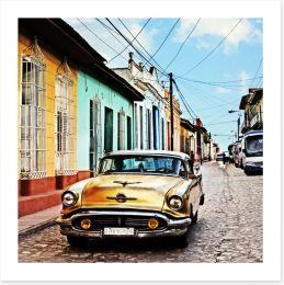 Vintage Cuba Art Print 102151065