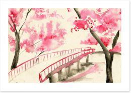 Watercolour Art Print 102598441