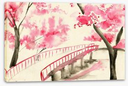 Watercolour Stretched Canvas 102598441