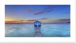 Sunrise at Matilda Bay, Perth