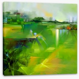 In the country Stretched Canvas 103618268