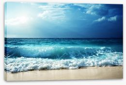 Beaches Stretched Canvas 103669452