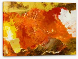 Abstract Stretched Canvas 105358248