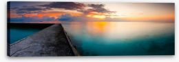Jetty Stretched Canvas 107003464