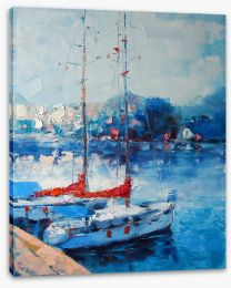 Impressionist Stretched Canvas 107268582