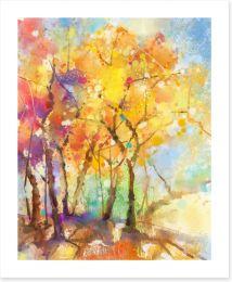 Autumn Art Print 113500111
