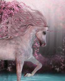 Cherry blossom unicorn