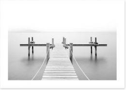 Black and White Art Print 120623013
