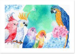 Birds Art Print 126636164