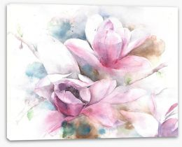 Floral Stretched Canvas 131253175