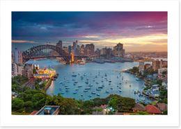 Sydney Art Print 138937885