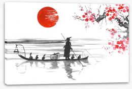 Japanese Art Stretched Canvas 156203995