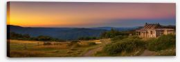 Craigs Hut sunset panorama Stretched Canvas 159905405