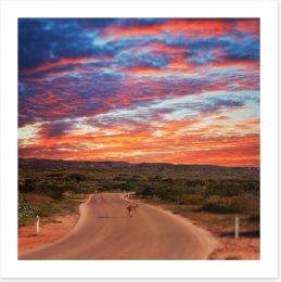 Outback Art Print 164725505