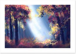 Autumn Art Print 170857141