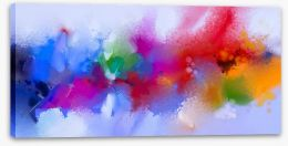 Abstract Stretched Canvas 175350873