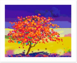 Autumn Art Print 176038802