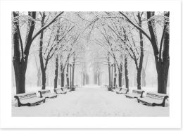 Winter Art Print 182313263